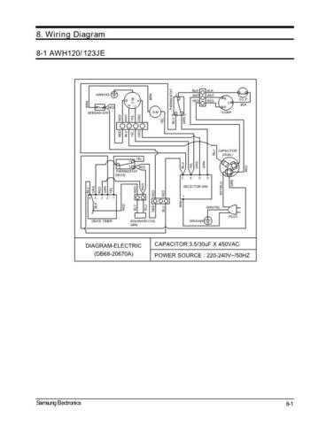 Samsung AWH120JE0K XEF40208115 Manual by download #163724