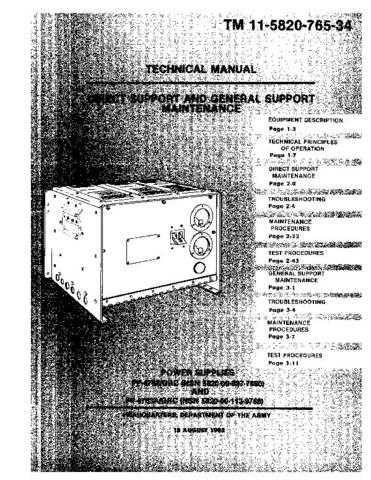 Military PP4763-34 Service Schematics by download #156815