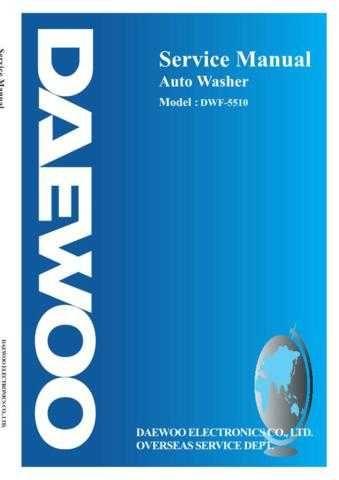 DAEWOO SM DWF-5510 (E) Service Data by download #146687
