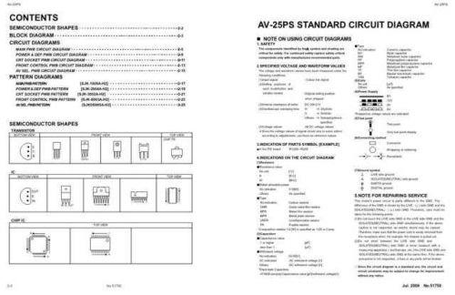 JVC 51750SCH Service Schematics by download #121734