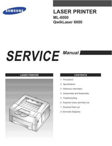 SAMSUNG ML 6000 CDC-1485 by download #164494