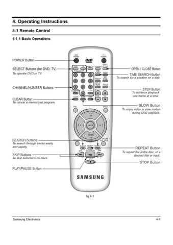 Samsung DVD 907 XAA10029105 Manual by download #164250