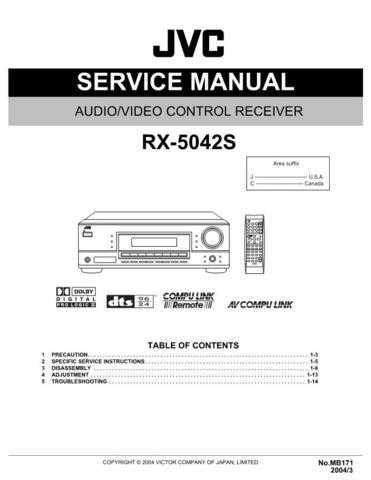 JVC RX-5032VSL sch Service Manual by download #156472