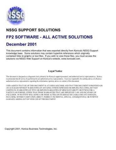 Konica FP2 Service Schematics by download #136413