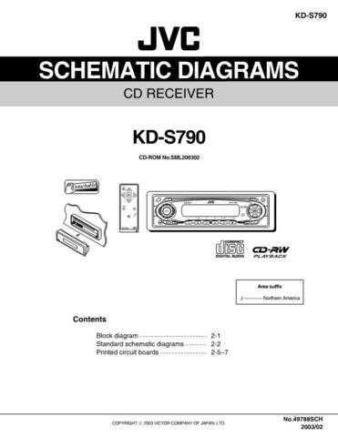 JVC KD-S790 schem Service Schematics by download #156181