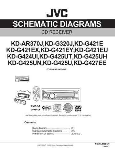 JVC KD-G320 sch Service Schematics by download #156081