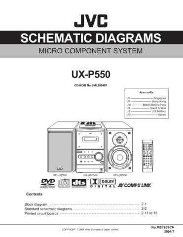 JVC UX-P5 sch Service Manual by download #156651