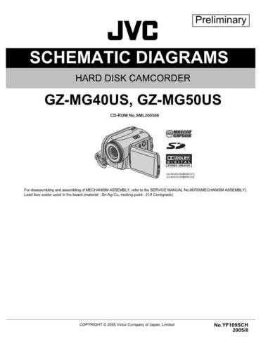 JVC GZ-MG50US sch Service Schematics by download #155301