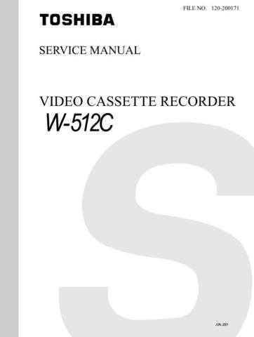 TOSHIBA W512C Service Schematics by download #160545