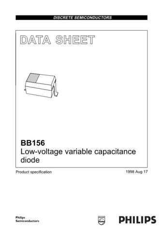 SEMICONDUCTOR DATA BB156 1J Manual by download Mauritron #187180