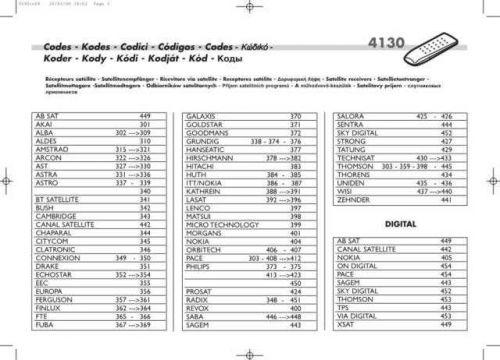 THOMSON 32WT45ES 4130RC04 Service Schematics by download #131859
