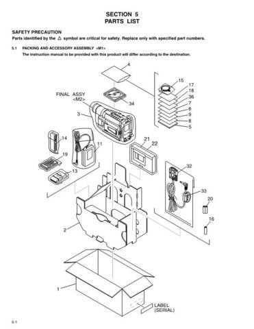 JVC GR-AXM241U-SXM745 parts Service Schematics by download #155556