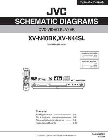 JVC XV-N44SL sch Service Manual by download #156721