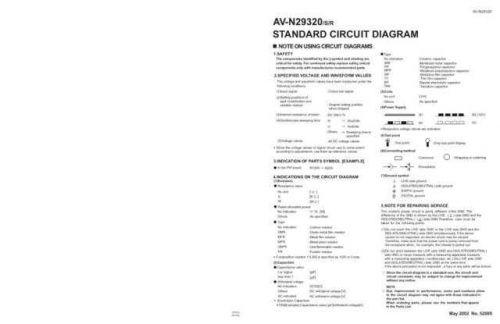 JVC AV-N29320R schem Service Schematics by download #155419