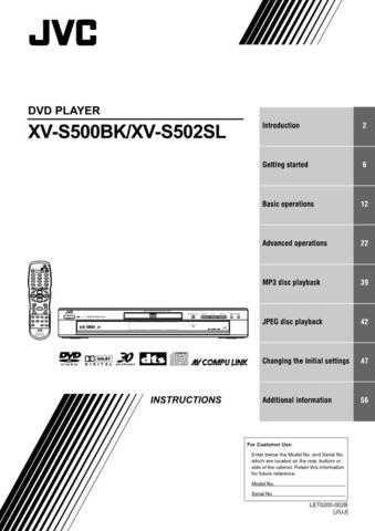 JVC A0027IEN Service Schematics by download #123354