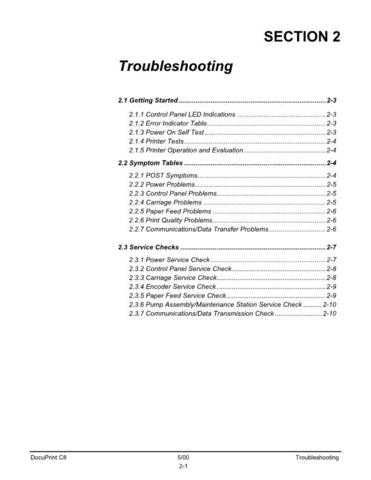Xerox C8 TROUBLESHOOTING Service Manual by download #139536