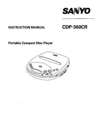 Sanyo CDP-150 Operating Guide by download #169079