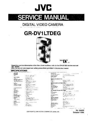 JVC GR-DV1 CDC-1441 by download #155645
