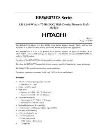 HITACHI 56R872ES Manual by download Mauritron #185740
