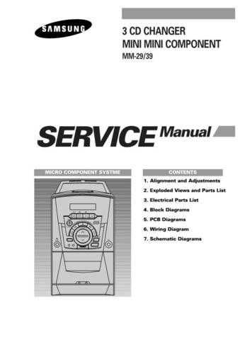Samsung MM39TH XAP40012101 Manual by download #164663