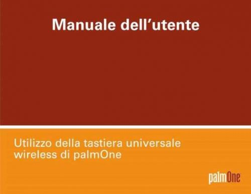 PALM UWKB USER GUIDE IT by download #127454