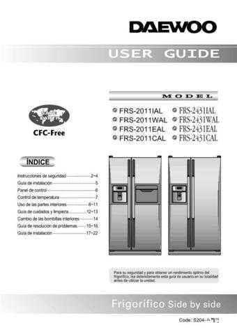 Deewoo FR-860NA (S) Operating guide by download #168276