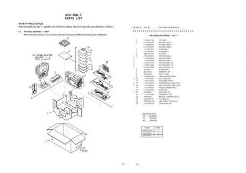 JVC GR-DVL31 part CDC-1441 by download #155670