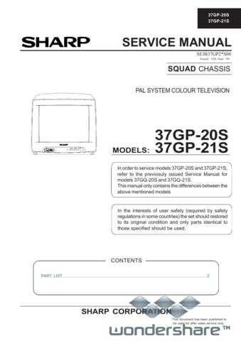 Sharp 37GP20S-21S SM GB(1) Manual.pdf_page_1 by download #178396