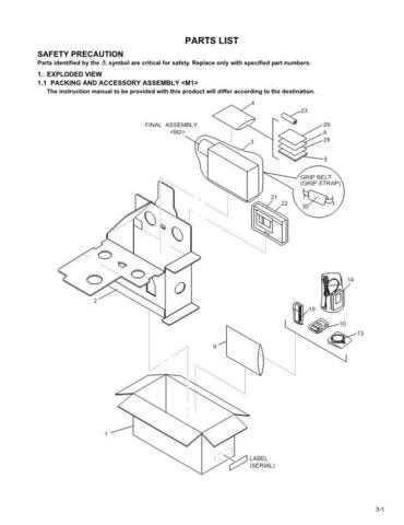 JVC GR-SXM250US part CDC-1441 by download #155805