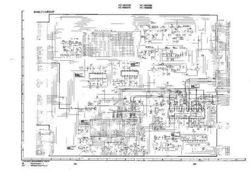 Sharp VCH88HM-001 Service Schematics by download #158632