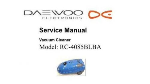 Daewoo RC-4085B (E) Service Manual by download #155089