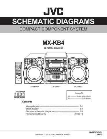 JVC MX-KB4 sch Service Manual by download #156402