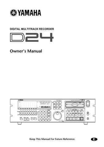 Yamaha D24E Operating Guide by download Mauritron #204459