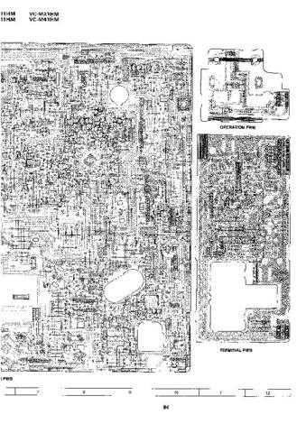 Sharp VCM24HM-001 Service Schematics by download #158754