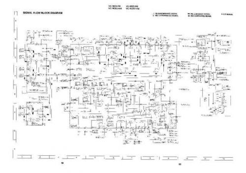 Sharp VCM26HM-012 Service Schematics by download #158796