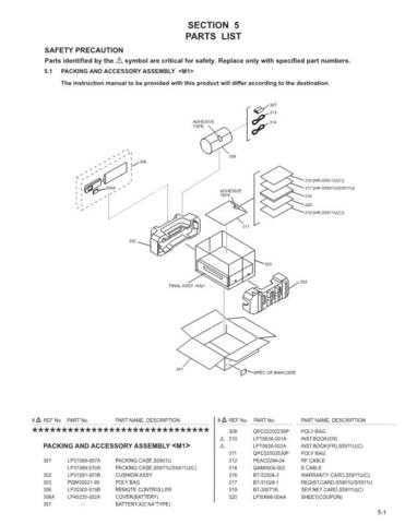 JVC HR-S5911U part Service Schematics by download #155955