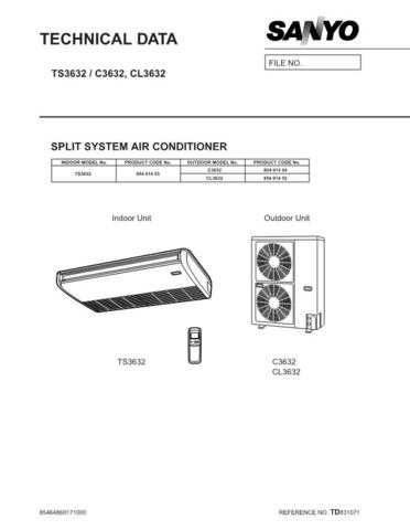 Sanyo 36TS32(TD831071) Manual by download #172663
