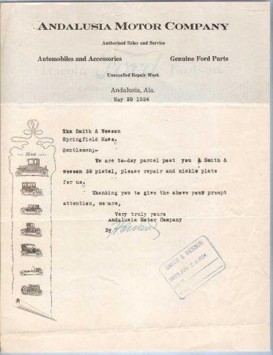 Al andalusia andalusia motor company lincoln ford fordson for Andalusia ford motor company