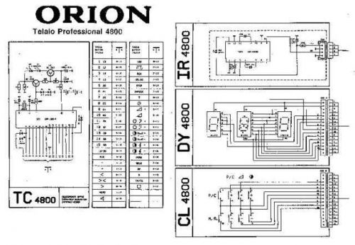 MODEL ORI4800 Service Information by download #124362