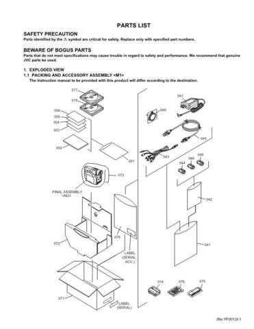 JVC GR-D200US PART TECHNICAL DATA by download #130751