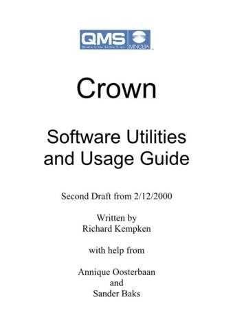 Minolta MC2200 SOFTWARE UTILITIES AND USAGE GUIDE Service Schematics by download