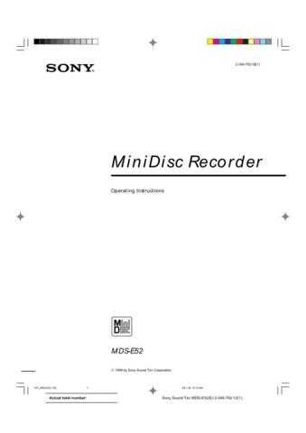 SONY E52 by download #128816