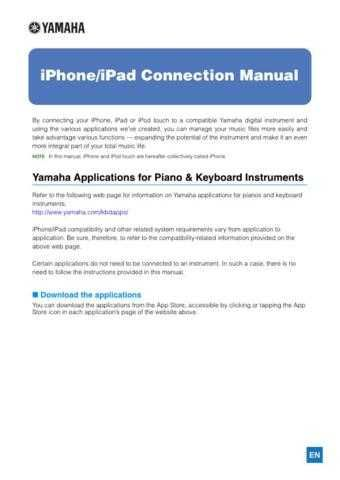 Yamaha IPHONE IPAD CONNECT EN D0 Operating Guide by download Mauritron #204745