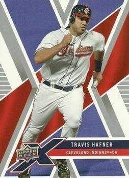 2008 Upper Deck X #33 Travis Hafner Cleveland Indians