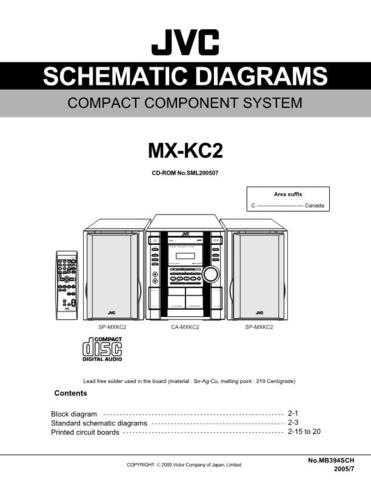 JVC MX-KC2 sch Service Manual by download #156405