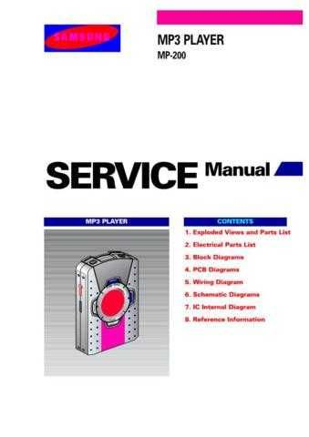 Samsung MYMP200 SALSCZC012E01 Manual by download #164892