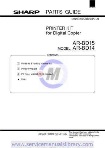 Sharp ARC100-150-250 PG PART1 GB-JP Manual by download #179489