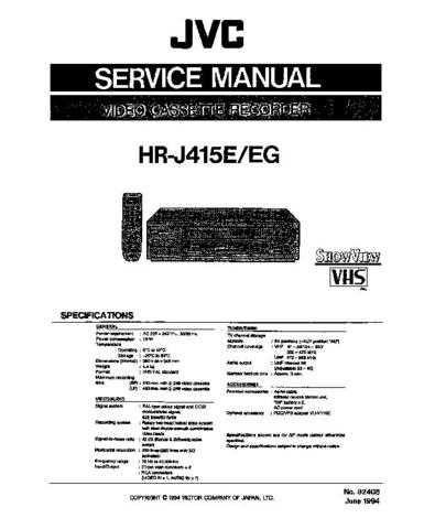 MODEL HRD520 Service Information by download #124197