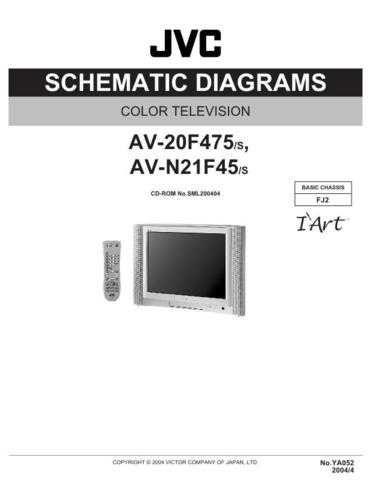 JVC AV-N21F45sch Service Schematics by download #155399