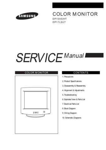 Samsung DP15HS7T EDCNL040101 Manual by download #164208